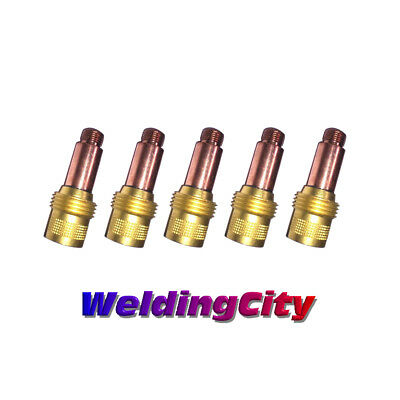 5-pk Tig Welding Gas Lens Collet Body 45v27 18 Torch 171826 Us Seller Fast