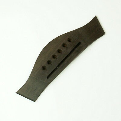 (G28) General Acoustic Guitar Bridge Style-2 ,Rosewood USA