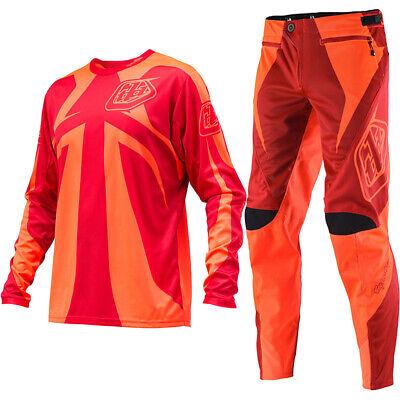 Troy Lee Designs TLD Men/'s MTB Downhill Cycling Sprint Shorts Orange Size 32