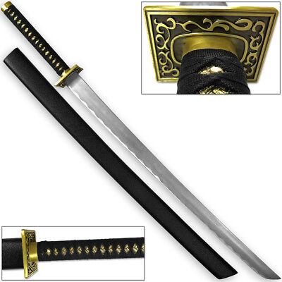 Mortal Kombat Deception Scorpion Demon Ninja Sword HUGE FULL TANG 50in HC - Mortal Kombat Swords