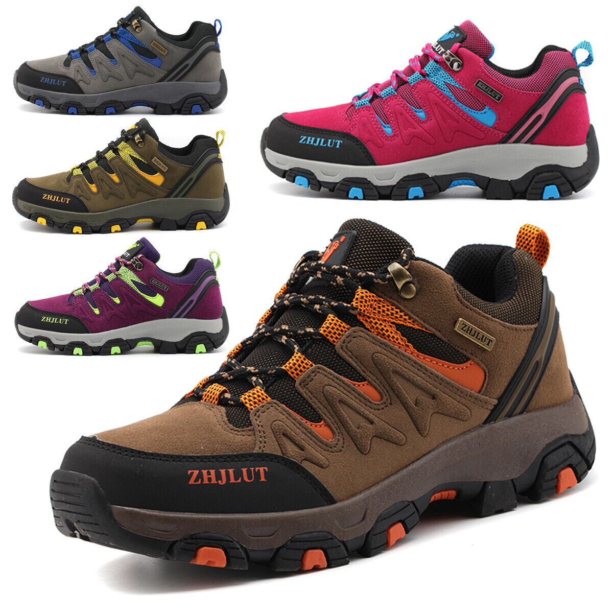 Sneakers Trail Trekking Breathable Men/'s Hiking Mountain Outdoor Climbing Shoes