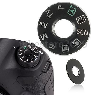 For Canon EOS 6D Camera Function Dial Mode Plate Interface Cap Button Repair Kit