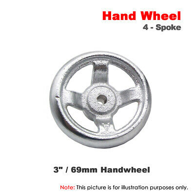1pcs 3  69mm Cast Iron Hand Wheel Without Handle For Milling Machine Lathe