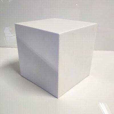 "12"" White Display Cube Pedestal Stand Riser Column Pillar - Wedding Parties"