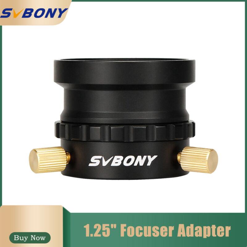 "SVBONY 1.25"" Universal Focuser Adapter M42x0.75+1.25""Eyepiece Base For Telescope"