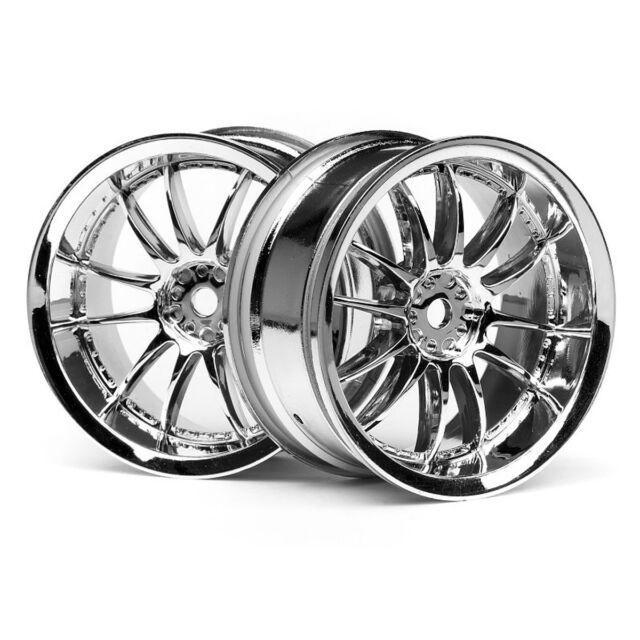 HPI Work ZSA 02C Wheel Chrome 3mm 3280