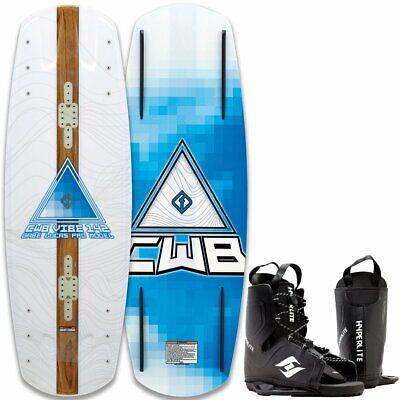 CWB Vibe Wakeboard Flex Tabla Grindbase Cable Kit-Wakeboard Fijación 147cm segunda mano  Embacar hacia Spain