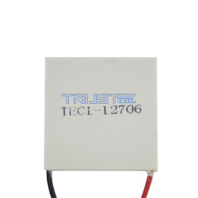 12v Tec1-12706 Cooling Peltier Plate Thermoelectric Cooler Heat Sink Module Usa
