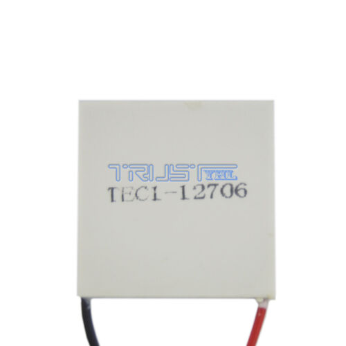 NEW! 12V 60W Thermoelectric Cooler TEC Peltier Plate Module TEC1-12706