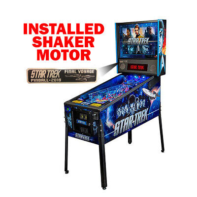 Stern Star Trek Pinball 2019: Final Voyage Machine w Shaker