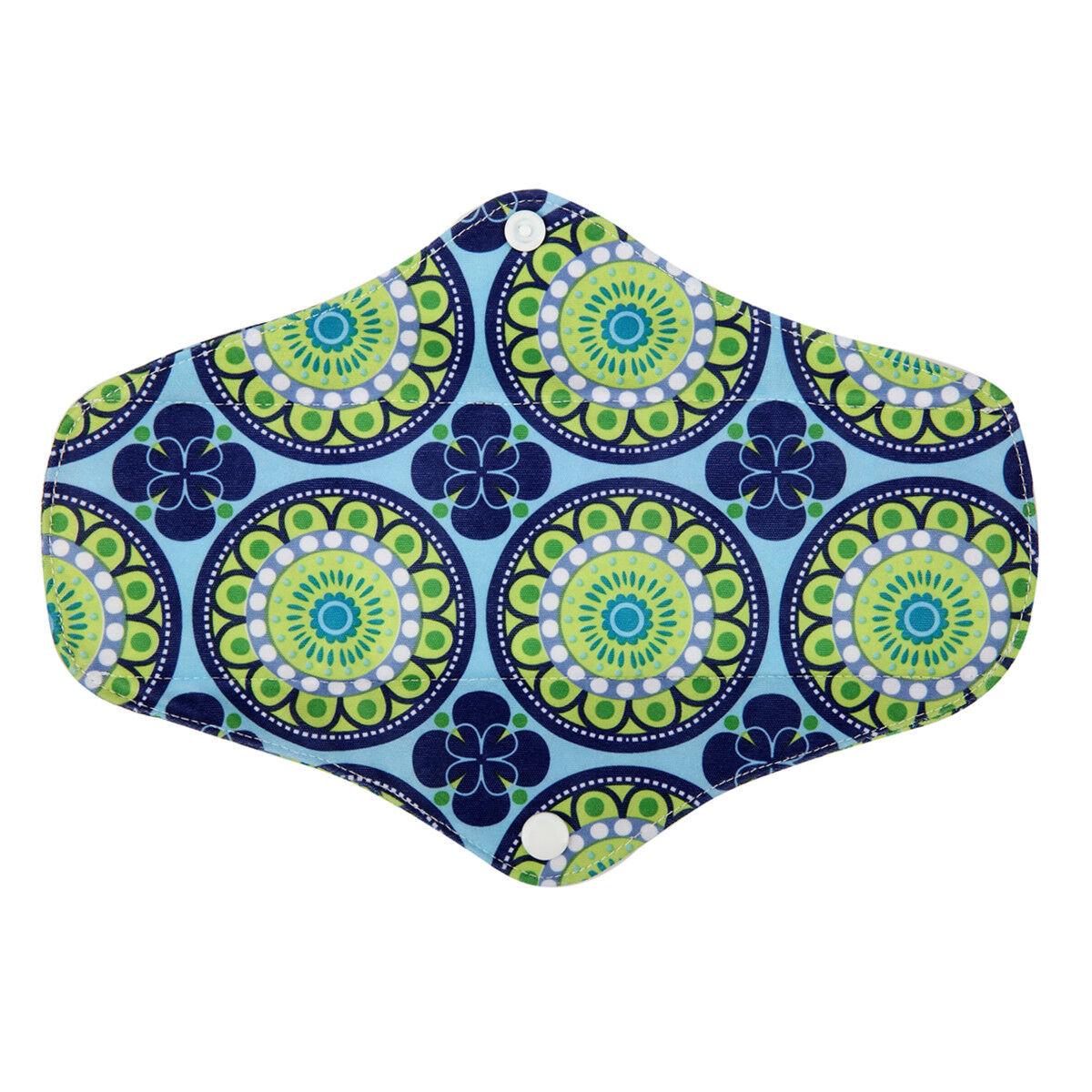 XS S M L XL Cloth Menstrual Pad Mama Cloth Sanitary Bamboo Charcoal Bag Reusable