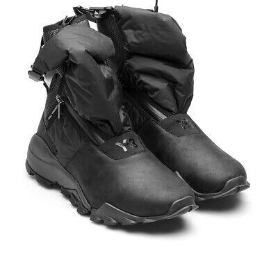 AUTH NEW Adidas Y-3 Ryo High Core Black Sneakers Boost Shoes 10.5 Yohji Yamamoto