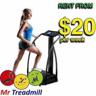 VIBRATION MACHINES FOR HIRE FROM $20 PER WEEK | MR TREADMILL