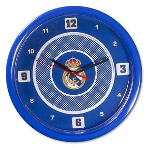 Real Madrid F.C. Wall Clock Official Licensed Football Fan Gifts