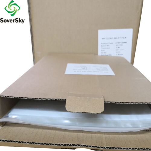 "WaterProof Inkjet Transparency Film 8.5"" x 11"" 50 Sheets for Silk Printing"