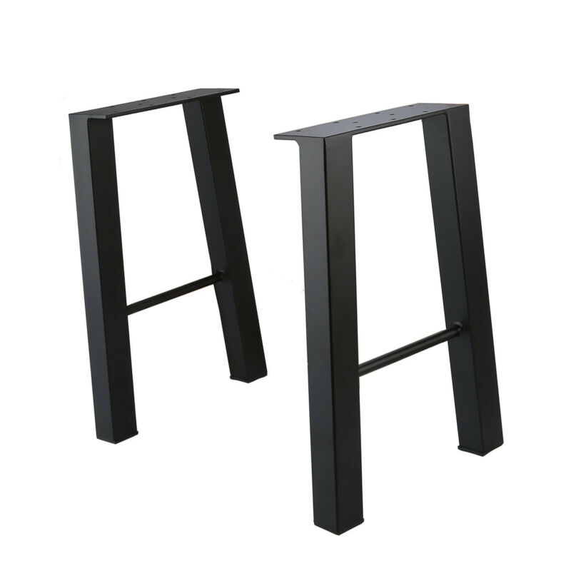 16'' Industry Coffee Table Leg Metal Steel Chair Bench Legs Set Of 2