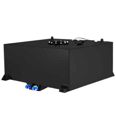 20 Gallon Universal Aluminum Race Drift Fuel Cell cap Tank Level Sender Black ()
