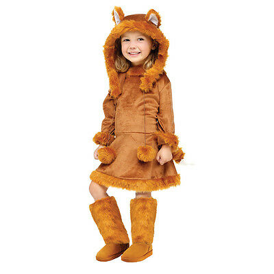 Sweet Brown Fox Child Toddler Costume w/ Hood | Fun World 121721
