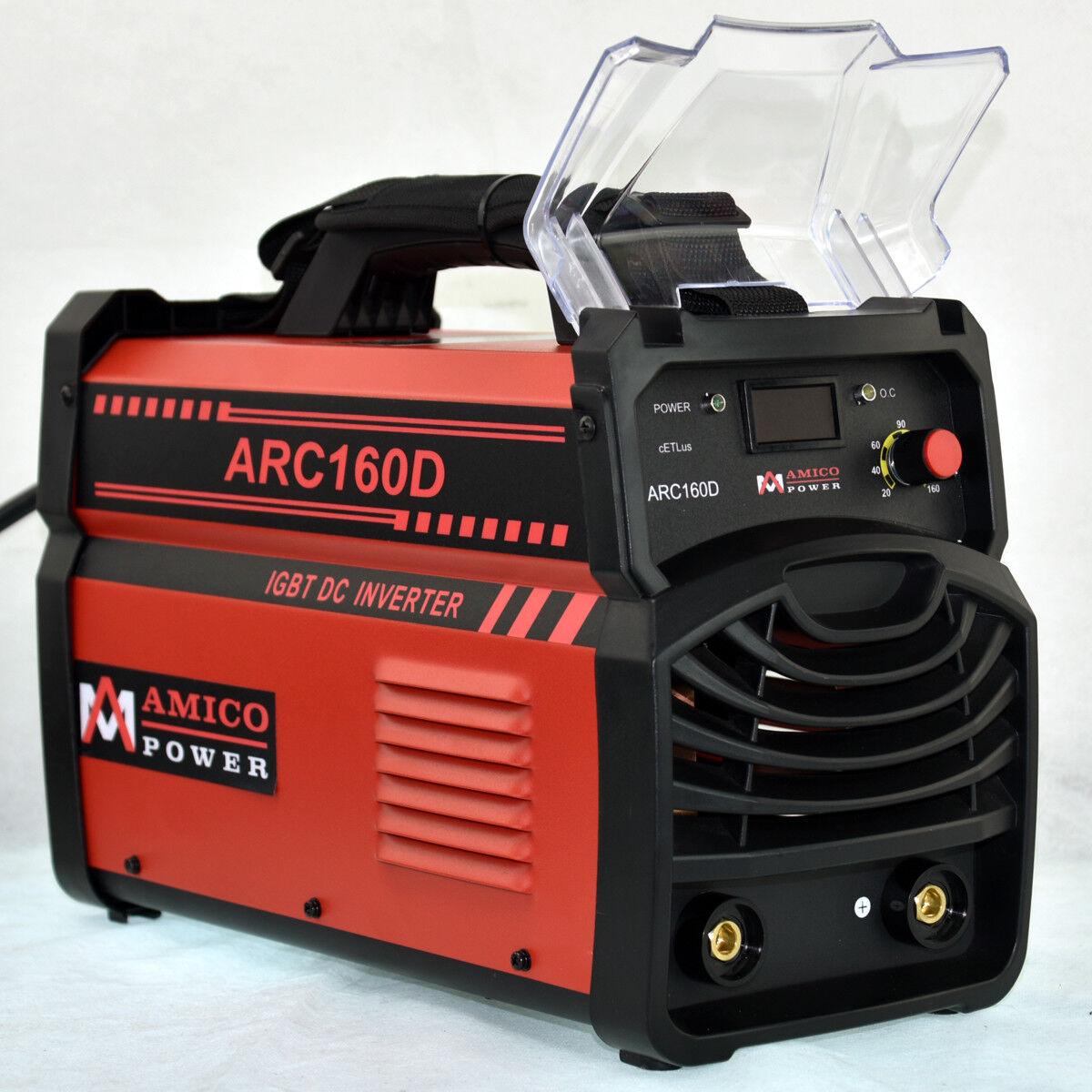 ARC-160D, 160 Amp Stick ARC DC Inverter Welder, 110V & 230V Dual Voltage Welding
