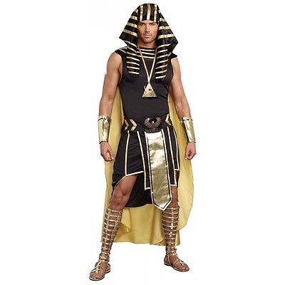 Egyptian Costume Adult Pharaoh King Tut Halloween Fancy Dress