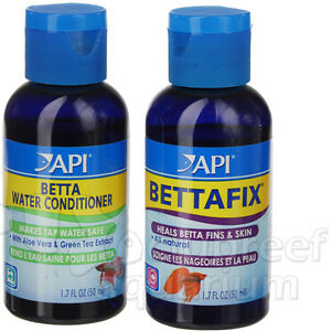 Bettafix Conditioner Remedy Fix Fins Treat Water Betta