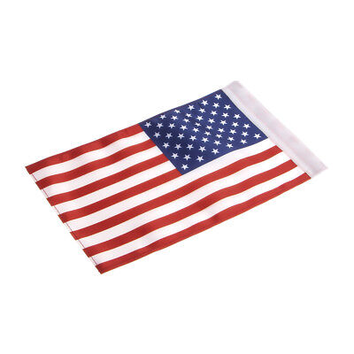 "6""x 9"" USA US Flag For Harley Honda Yamaha Most Motorcycles Pole Mount Decorate"