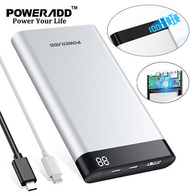 10000mAh Virgo II Portable Charger Power Bank USB Type C Input & Output 5V/3.1A
