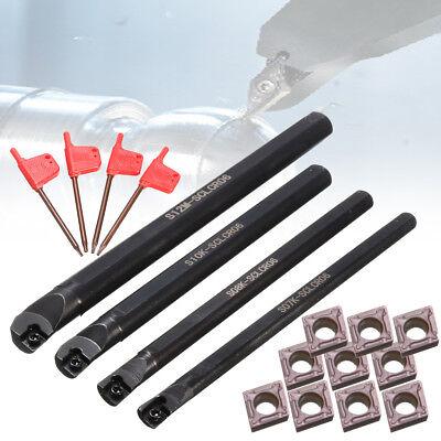 781012mm Sclcr06 Lathe Boring Turning Bar 10pcs Ccmt060204 Insert Tool Set