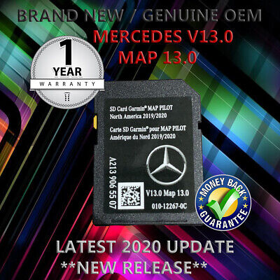 2020 MAPS C300 Mercedes-Benz SD Card GPS Navigation GLC E C-Class Garmin Pilot