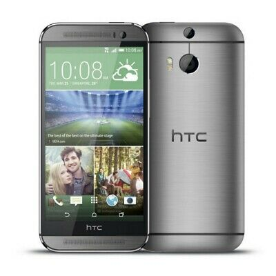 HTC One M8 - Android | Grade B+ | AT&T | Gunmetal Gray | 32 GB | 5 in Screen