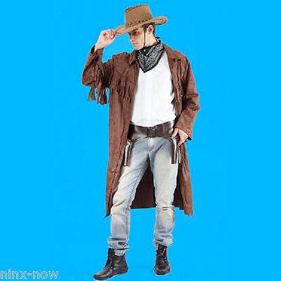 Cowboy Gunfighter Western Great Mens Fancy Dress - Great Mens Costumes