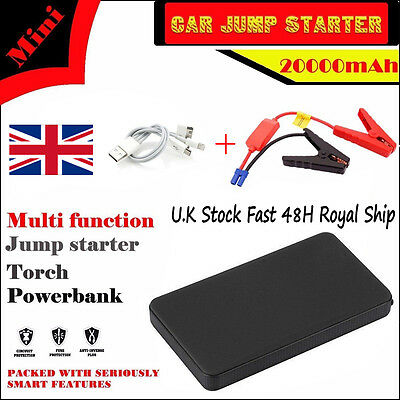 Popular 12V 20000mAh Car Jump Starter Pack Booster Charger Battery Power Bank