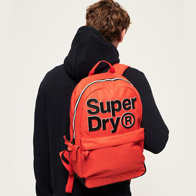 NWT SUPERDRY TONE LOGO MONTANA RUCKSACK BAG SCHOOL WORK TRAVEL SPORT BACKPACK