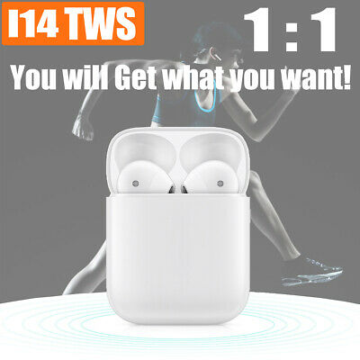 i14 TWS Wireless Bluetooth 5.0 Headset Earphones Stereo Headphones TWIN Earbuds