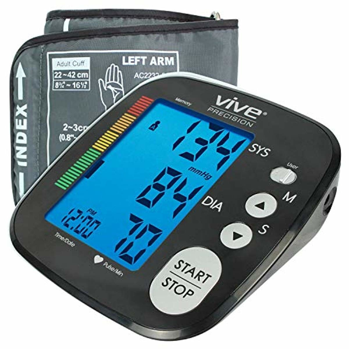 blood pressure machine heart rate monitor automatic