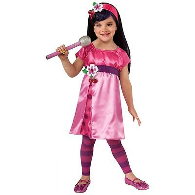 Cherry Jam Deluxe Costume for Toddlers size 2-4 New by Rubies 881745](Strawberry Costume For Toddler)