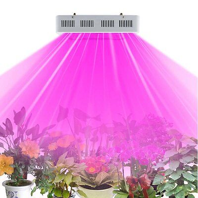X5 1000watt LED Grow Light Panel Full Spectrum IR UV for Indoor Medical Plants