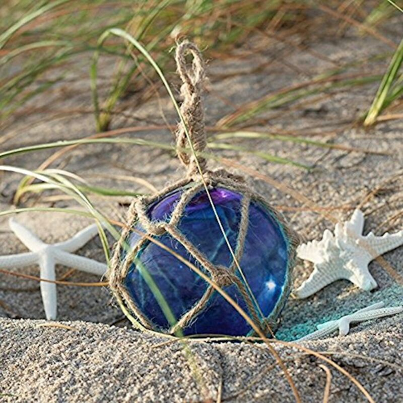 Nautical Crush Trading Cobalt Blue Glass Float Ball Large | Fishing NCTS6276