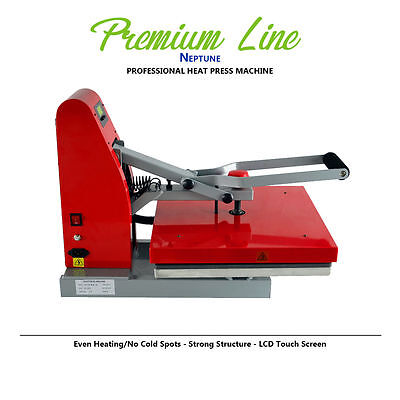 Heat Press Machine 16x20 Htv T Shirt Transfer Iron On Neptune