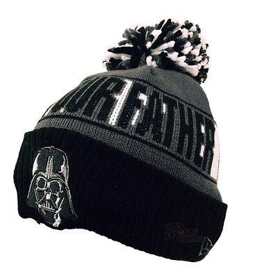 Star Wars Darth Vader Helmet Rep Your Team New Era Beanie - Darth Vader Beanie