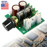 10A 12-40V Pulse Width Modulator PWM DC Motor Speed Control Switch Controller