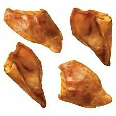Pack of Four Pigs Ears High Protein Dog Treat