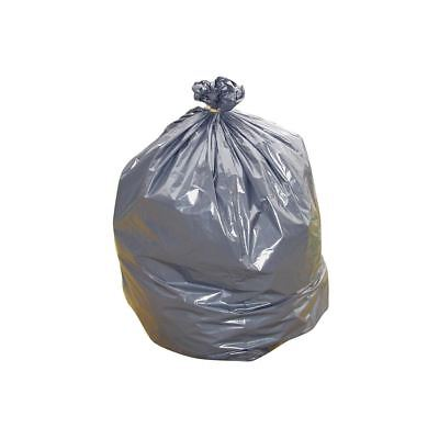 100 x High Quality Black Compactor Refuse Sacks 20x35x45