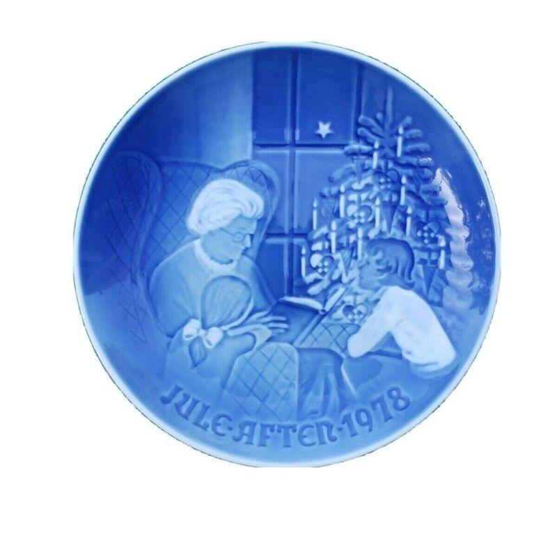"1978 B&G Bing & Grondahl ""A Christmas Tale"" Jule  Vintage Collector"