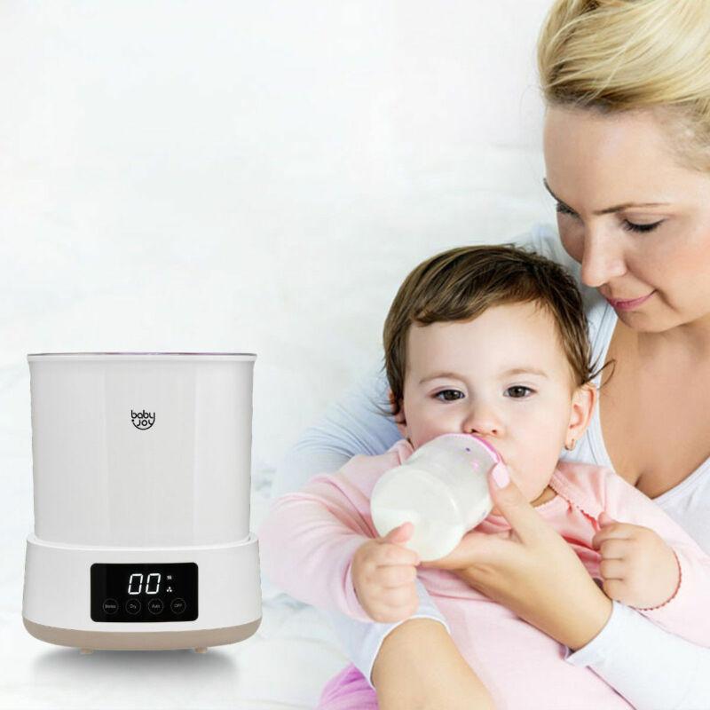 Multifunctional Baby Bottle Electric Steam Sterilizer Dryer Machine LED Display