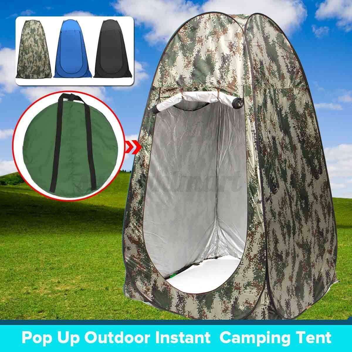 Neu 1X Duschzelt Toilettenzelt Umkleidezelt Camping Zelt Wasserfest Beistellzelt