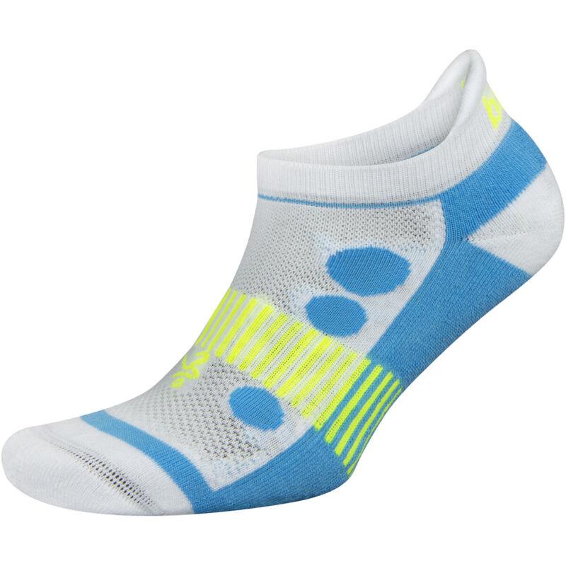Balega Kids Hidden Cool 2 No Show Running Socks - White/Blue