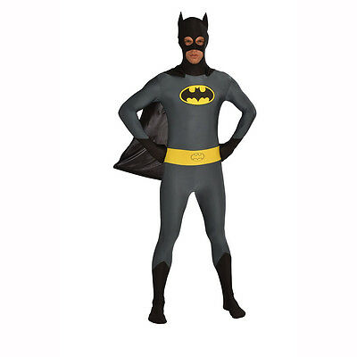 Batman - 2nd Skin Full Body Spandex Zentai - Zentai Kostüme Batman