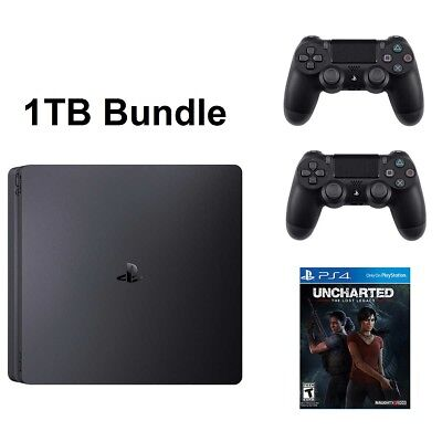 Ps4 Slim 1Tb Console System Uncharted The Lost Legacy Bundle Playstation 4 New