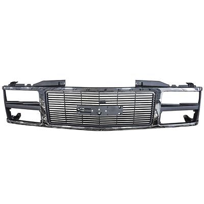 Gmc Suburban Grill - Grille Grill Chrome Front End for GMC C/K 1500 2500 3500 Suburban Yukon
